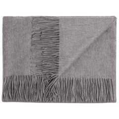 Ben Soleimani Cashmere Oversized Throw - Grey