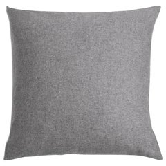 "Ben Soleimani Cashmere Pillow - Grey 22""x22"""