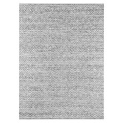 Ben Soleimani Ceyah Rug– Hand-woven Plush Textured Wool + Linen Charcoal 12'x15'