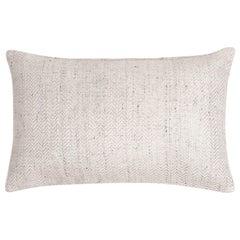 """Ben Soleimani Chevron Pillow - Ivory 13""""x21"""""""