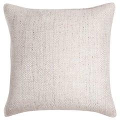 """Ben Soleimani Chevron Pillow - Ivory 22""""x22"""""""