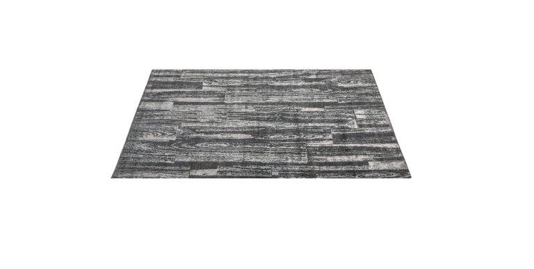 For Sale: Gray (Desmi Graphite) Ben Soleimani Desmi Rug 6'x9' 2