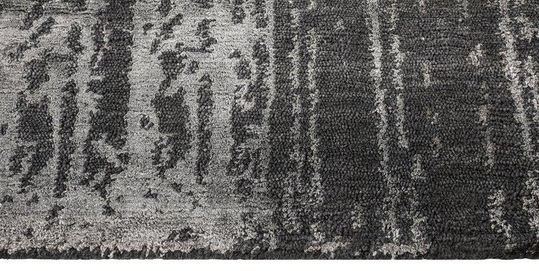 For Sale: Gray (Desmi Graphite) Ben Soleimani Desmi Rug 6'x9' 3