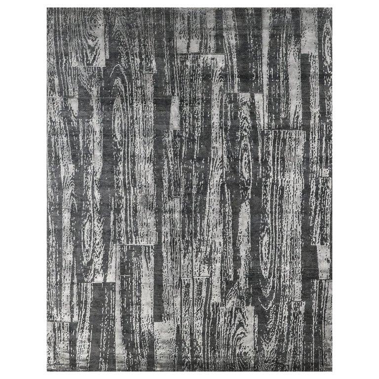 For Sale: Gray (Desmi Graphite) Ben Soleimani Desmi Rug 6'x9'