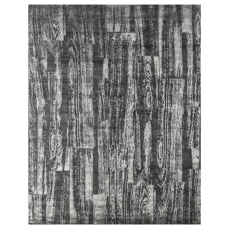 For Sale: Gray (Desmi Graphite) Ben Soleimani Desmi Rug 8'x10'