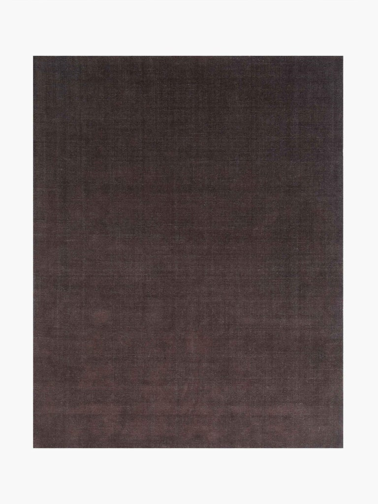 For Sale: Brown (Distressed Wool Espresso) Ben Soleimani Distressed Wool Rug 8'x10' 4