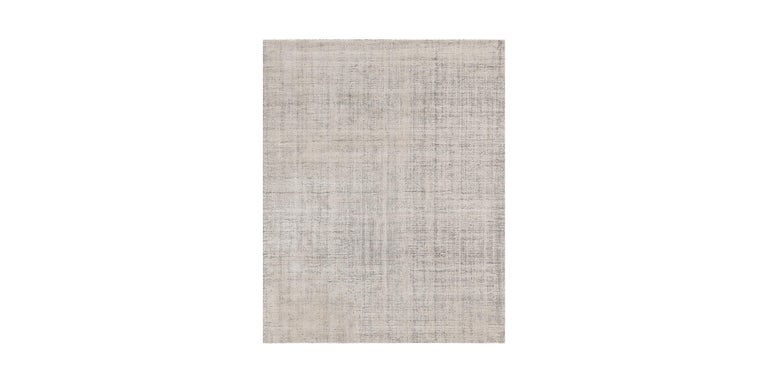 For Sale: Beige (Distressed Wool Sand) Ben Soleimani Distressed Wool Rug 8'x10' 2