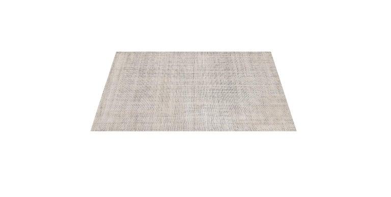 For Sale: Beige (Distressed Wool Sand) Ben Soleimani Distressed Wool Rug 8'x10' 3
