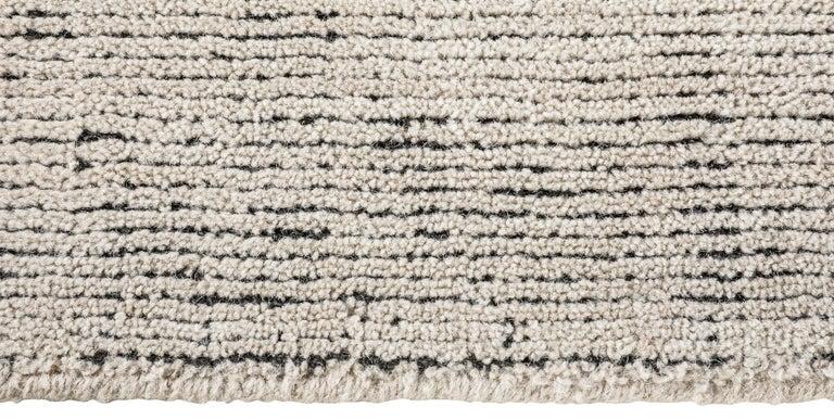 For Sale: Beige (Distressed Wool Sand) Ben Soleimani Distressed Wool Rug 8'x10' 4