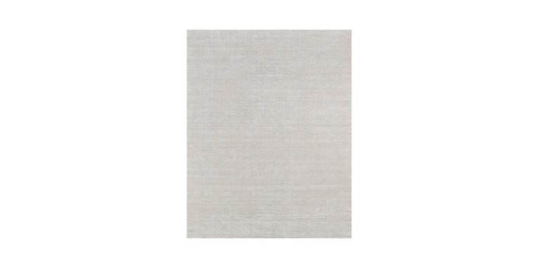 For Sale: Silver (Distressed Wool Silver) Ben Soleimani Distressed Wool Rug 8'x10' 2