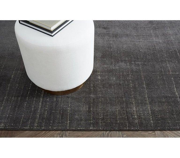 Ben Soleimani Distressed Wool Rug 8'x10' For Sale 25