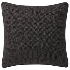"Ben Soleimani Double Diamond Pillow Cover - Espresso 22""x22"""