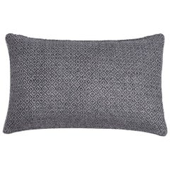 "Ben Soleimani Double Diamond Pillow Cover - Indigo 13""x21"""