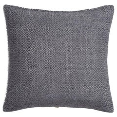 "Ben Soleimani Double Diamond Pillow Cover - Indigo 26""x26"""