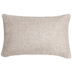 "Ben Soleimani Double Diamond Pillow Cover - Ivory 13""x21"""