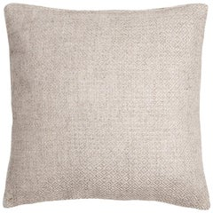 "Ben Soleimani Double Diamond Pillow Cover - Ivory 26""x26"""