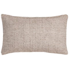 "Ben Soleimani Double Diamond Pillow Cover - Sand 13""x21"""