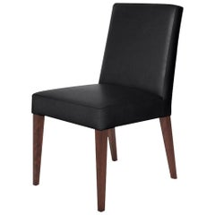 Ben Soleimani Hadley Dining Chair in Velvet - Lead