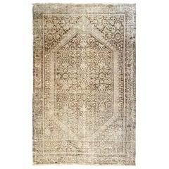 "Ben Soleimani  Handmade Antique Malayer Style 5'7"" X 3'8"" Rug"