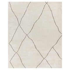 Ben Soleimani Iona Rug– Moroccan Hand-knotted Wool Bisque/Cafe 10'x14'