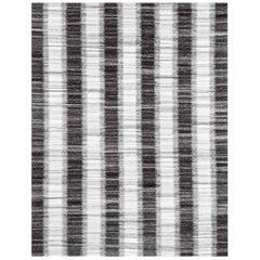 Ben Soleimani Kata Rug - Silver / Graphite 9'x12'