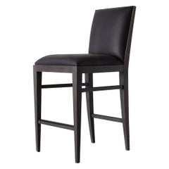 Ben Soleimani Landon Bar Stool in Matte Saddle - Carbon