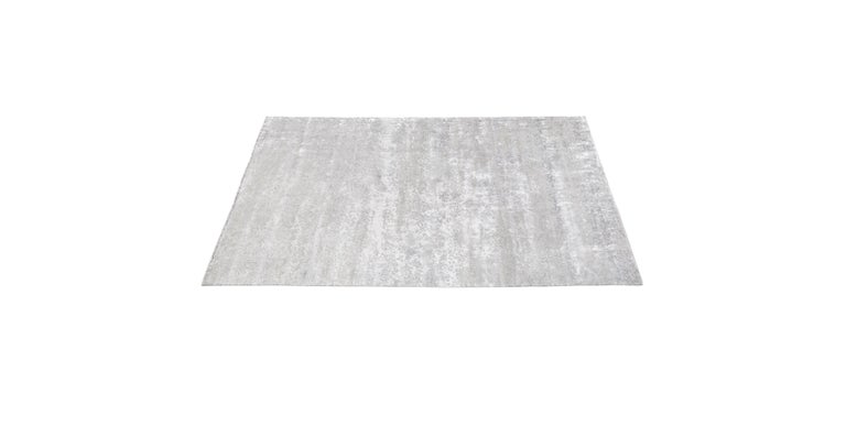 For Sale: Silver (Laria Fog) Ben Soleimani Laria Rug– Handcrafted Wool + Silk Fog 12'x15' 2