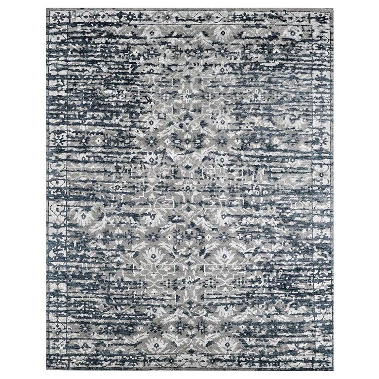 For Sale: Multi (Lerah Carbon/Indigo) Ben Soleimani Lerah Rug 9'x12'