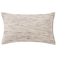 "Ben Soleimani Natural Silk Pillow Cover - Natural 13""x21"""