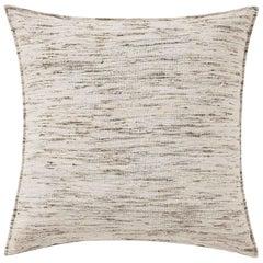 """Ben Soleimani Natural Silk Pillow Cover - Natural 22""""x22"""""""