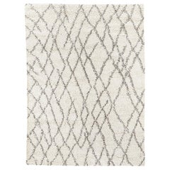 Ben Soleimani Noura Rug– Moroccan Hand-knotted Ultra-plush Ivory 8'x10'