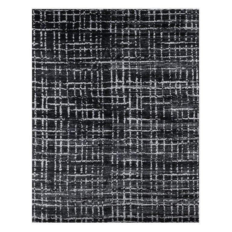 For Sale: Black (Oro Black) Ben Soleimani Oro Rug 12'x15'