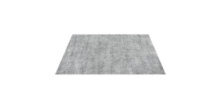 For Sale: Gray (Pelu Nickel) Ben Soleimani Pelu Rug 6'x9' 2
