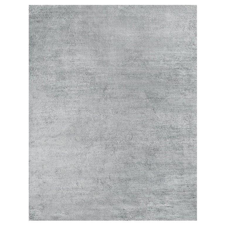 For Sale: Gray (Pelu Nickel) Ben Soleimani Pelu Rug 6'x9'
