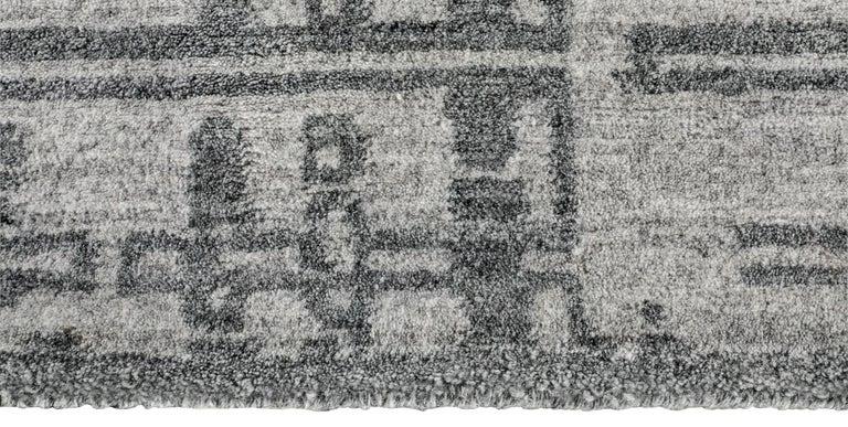 For Sale: Gray (Performance Montro Grey/Charcoal) Ben Soleimani Performance Montro Rug 10'x14' 3