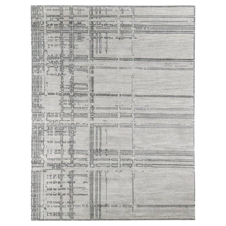 For Sale: Gray (Performance Montro Grey/Charcoal) Ben Soleimani Performance Montro Rug 10'x14'