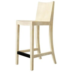 Ben Soleimani Pergamo Bar Stool in Natural Parchment
