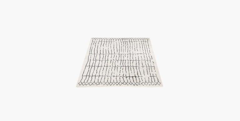 For Sale: Multi (Plaga Sand/Black) Ben Soleimani Plaga Rug 8'x10'