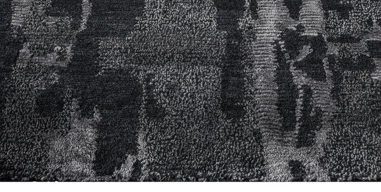 For Sale: Black (Reve Gunmetal) Ben Soleimani Reve Rug 8'x10' 4