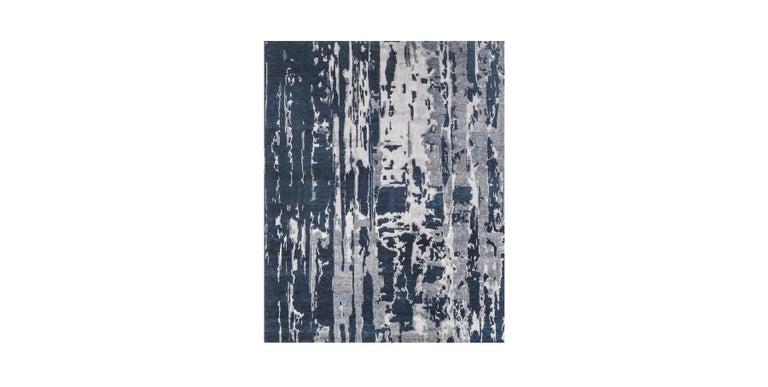 For Sale: Blue (Reve Navy) Ben Soleimani Reve Rug 8'x10' 2