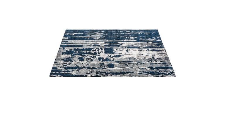 For Sale: Blue (Reve Navy) Ben Soleimani Reve Rug 8'x10' 3
