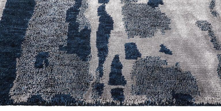 For Sale: Blue (Reve Navy) Ben Soleimani Reve Rug 8'x10' 4
