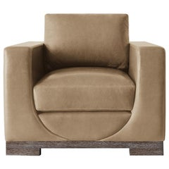 Ben Soleimani Sussex Upholstered Lounge Chair – Italian Leather
