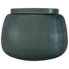 Ben Soleimani Tarro Handblown Vase in Ocean Blue - Small