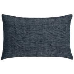 "Ben Soleimani Textured Pillow Cover - Indigo 13""x21"""
