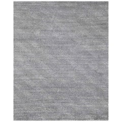 Ben Soleimani Vello Rug– Hand-knotted Wool + Viscose Ash/Silver 10'x14'