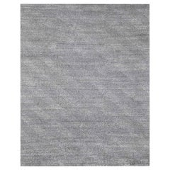 Ben Soleimani Vello Rug– Hand-knotted Wool + Viscose Ash/Silver 8'x10'