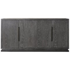 Ben Soleimani Handcrafted Latch Doors 6' Woods Credenza