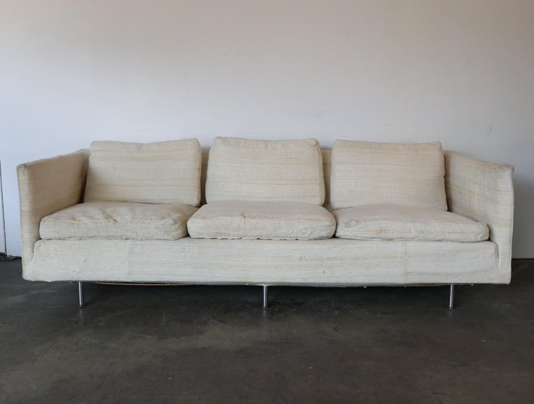 American Ben Thompson for Design Research Mid-Century Modern Sofa For Sale