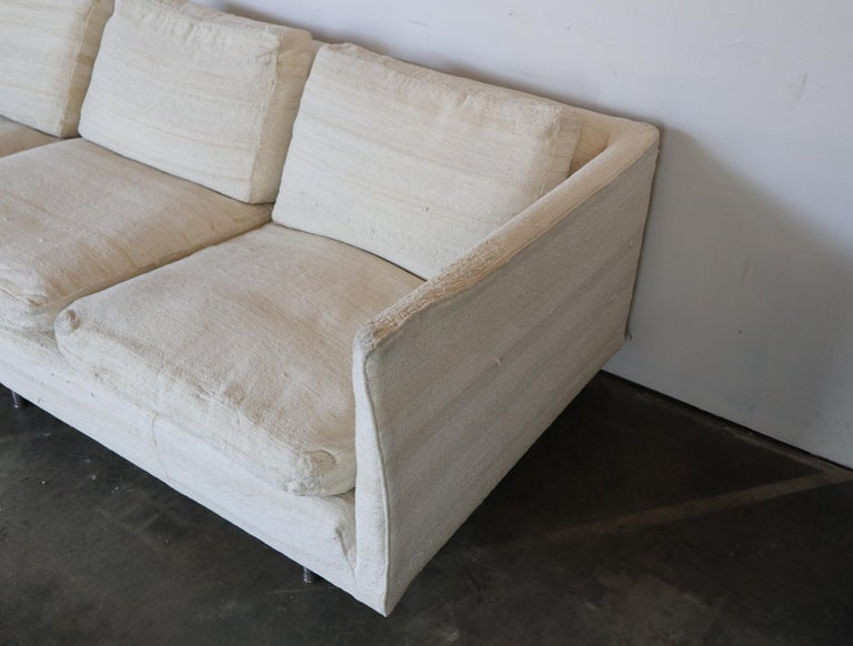 Ben Thompson for Design Research Mid-Century Modern Sofa In Fair Condition For Sale In Brooklyn, NY